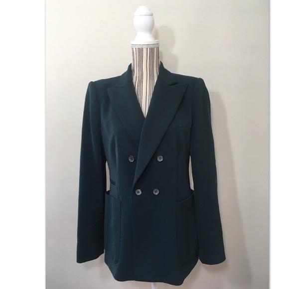 d96b8d810b1 Zara Women s dark green Blazer